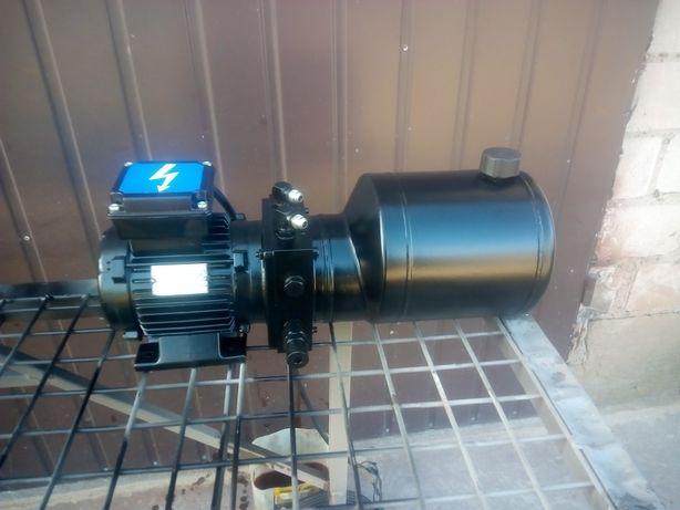 Agregat pompa stacja hydrauliczny