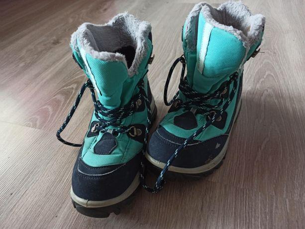 Buty zimowe dla dziewczynki r. 32