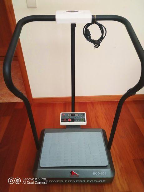 Plataforma vibratória Power Fitness