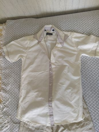 Рубашка на мальчика 7-8 лет
