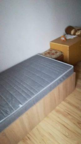 Łóżko z materacem 220/90