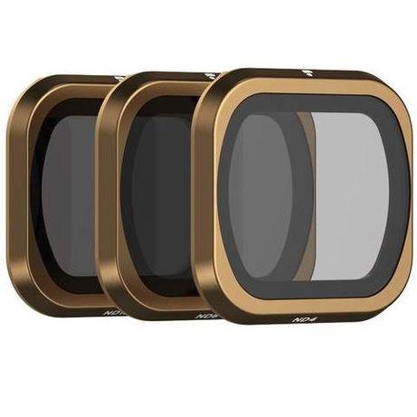 Filtry PolarPro Cinema Series Mavic 2 Pro ND4 ND8 + podwozie PGYTECH