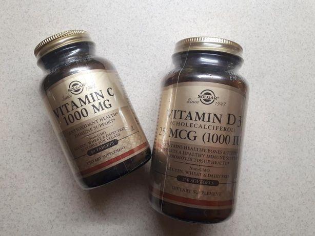 Солгар витамин Д3 1000