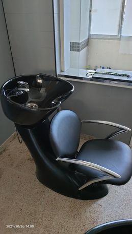 Rampa de lavagem para cabeleireiro