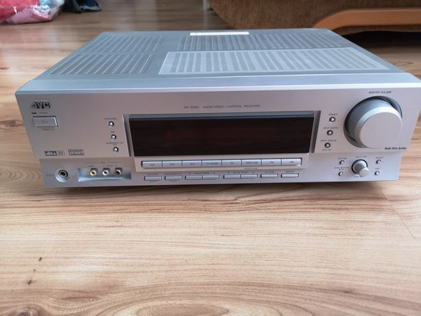 Amplituner JVC RX-5062 + pilot  Kino domowe