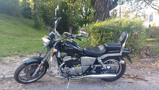 Motocykl 125 Junak m11, chopper, cruiser,