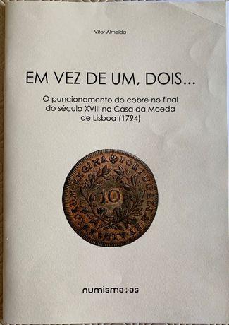 Numismatica: Em vez de um, dois…O puncionamento do cobre final sec XIX