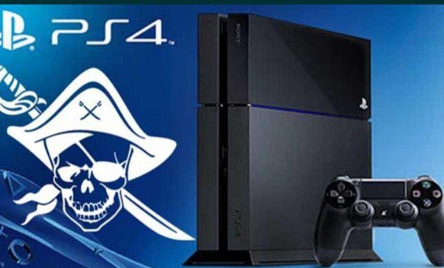 Vendo PS4 desbloqueada 500 GB 30 jogos (Ler descrição)
