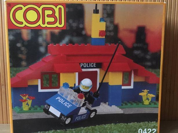 Подарок мальчику Конструктор COBI (LEGO) Полиция, развивающая игрушка