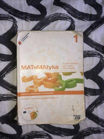 Podręcznik Matematyka Nowa Era 1 zakres podstawowy i rozszerzony