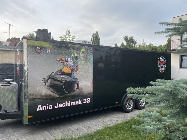 PEREŁKA! Przyczepa specjalna JEDYNA TAKA w Polsce