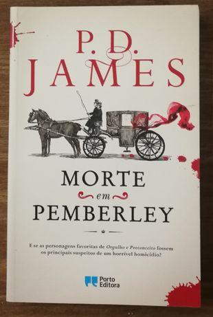 morte em pemberley, p.d. james, porto editora