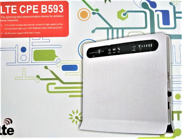 Комплект Новый WiFi роутер модем Huawei B593 + АНТЕННА Vodafon, КS,Li