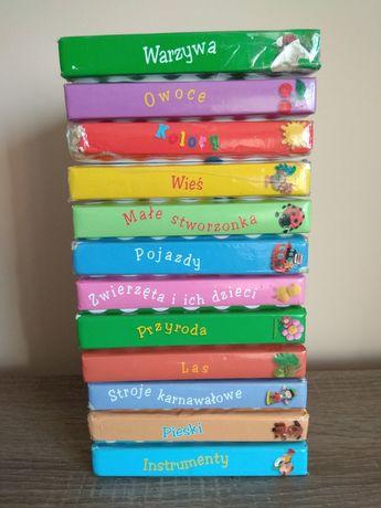 Obrazki dla maluchów 12 sztuk książeczki dla dzieci zestaw