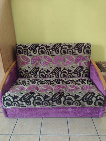 Fotel rozkładany dwuosobowy z funkcją spania