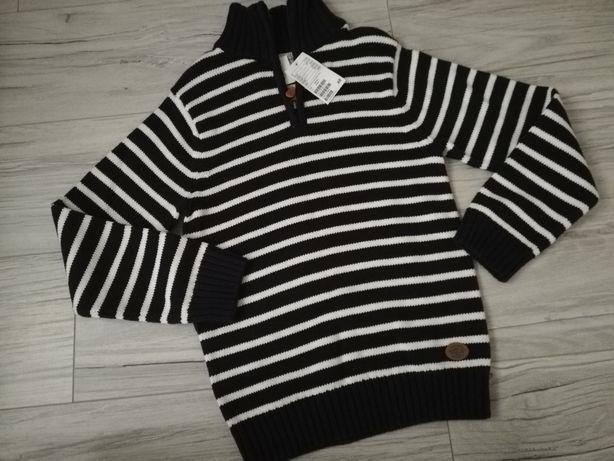Nowy sweter chłopięcy h&m 122/128