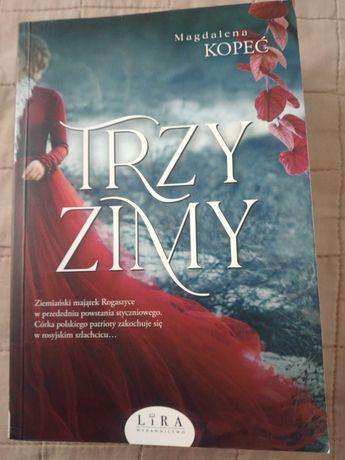 Sprzedam książkę Magdalena Kopeć Trzy zimy