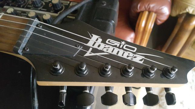 Gitara Ibanez Humbucker + Kustom.