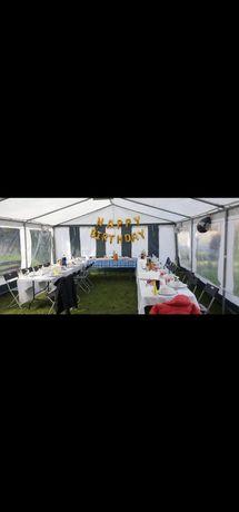 Namiot imprezowy komunijny