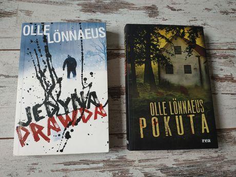 Książki kryminały Olle Lönnaeus