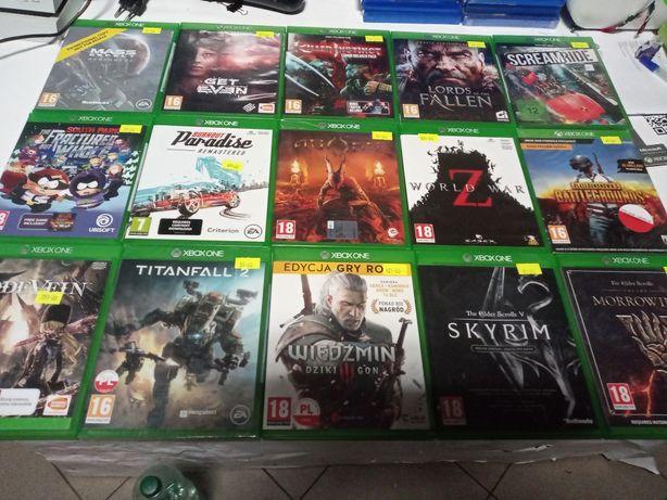 Sprzedam gry na Xbox one,one s,one x