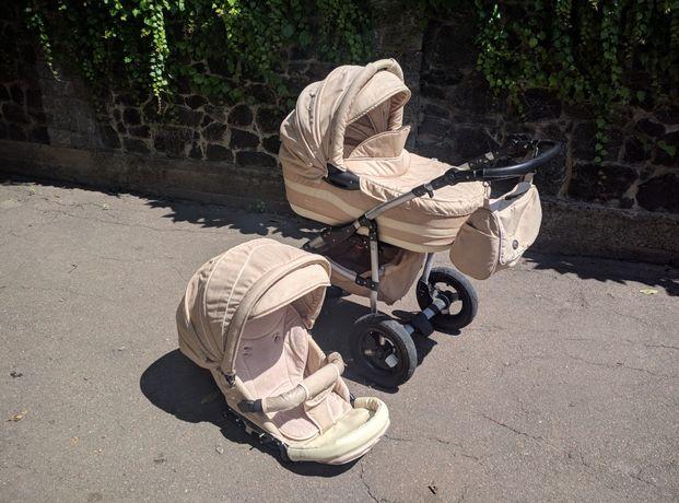 Дитячий візочок 2 в 1 Тако. Детская коляска 2 в 1