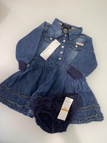 Джинсове плаття Calvin Klein Jeans(оригінал)