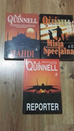 A.J.Quinnell-3 książki