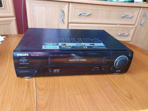 Magnetowid odtwarzacz kaset video wideo philips vr605 VHS 6-głowicowy