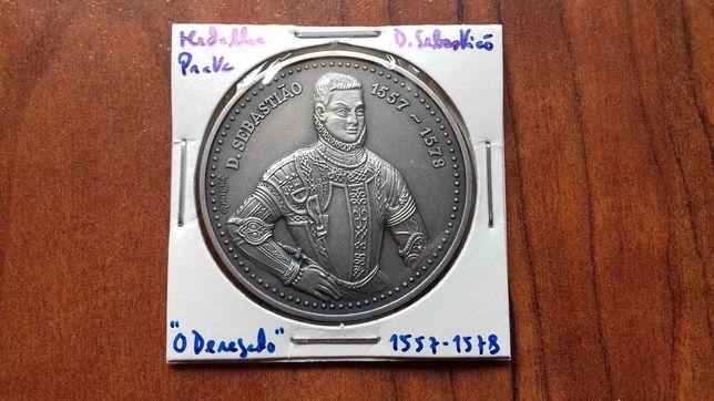 Medalha de Prata de D. Sebastião, O Desejado