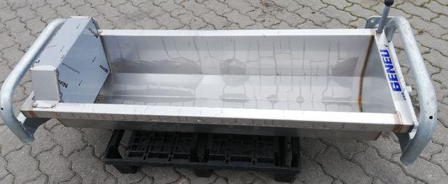 Poidło wannowe dla bydła nierdzewne, ścienne 130cm