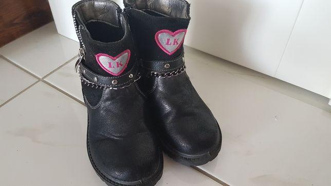 Buty zimowe jesienne roz. 26
