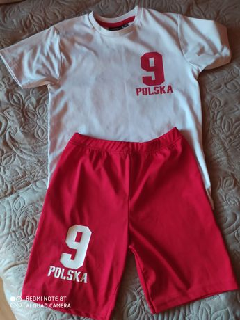 Strój piłkarski, biało-czerwoni, Lewandowski