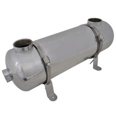 Permutador de calor, piscina, 485 x 134 mm 60 kW