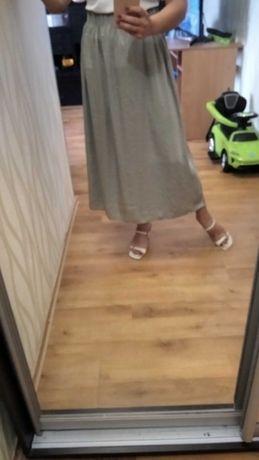 Юбка миди в бельевом стиле