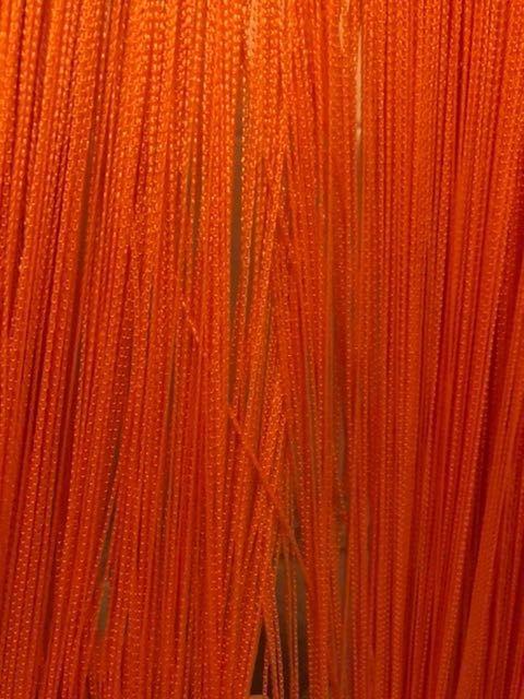 Makarony firanki pomarańczowe 200x170 cm Otwock - image 1