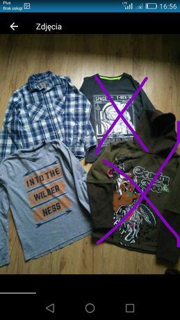 Bluzki+bluza+koszula na 134