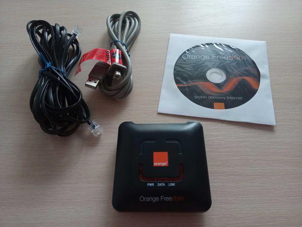 Modem USB ZXDSL 852 + kable + płyta