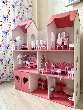Дом для кукол барби,кукольный домик для девочки,в наличии без предопла