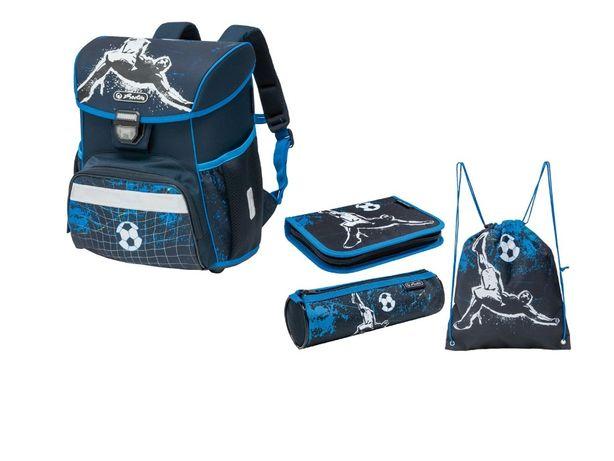 Детский рюкзак Herlitz Loop Plus 4 предмета школьный ранец мальчику