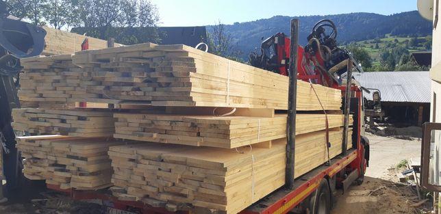 Deski szalunkowe kantówki budowlane trasport hds