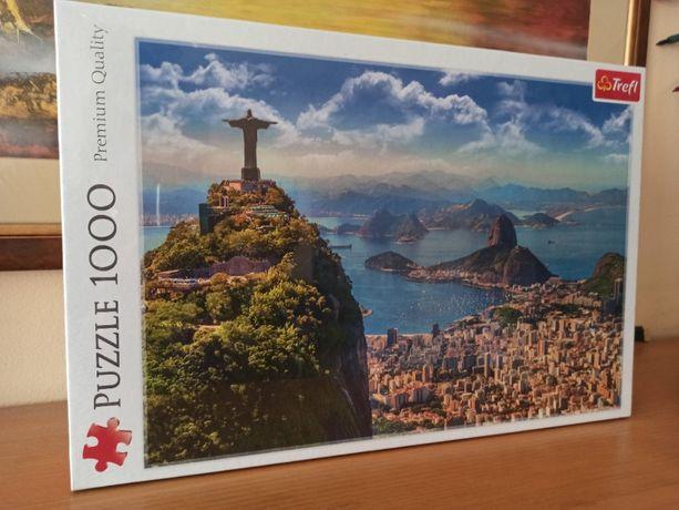 Puzzle Trefl 1000 - Rio De Janeiro - Nowe