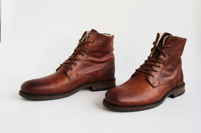 ботинки кожаные с мехом Dune London / Martens, Lowa