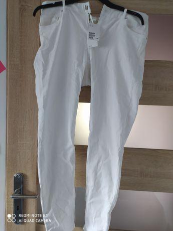 Nowe biale jeansy h&m rozm 44