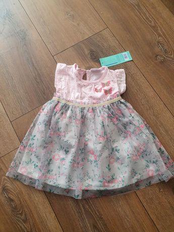 Sukienka dziewczęca rozmiar 80