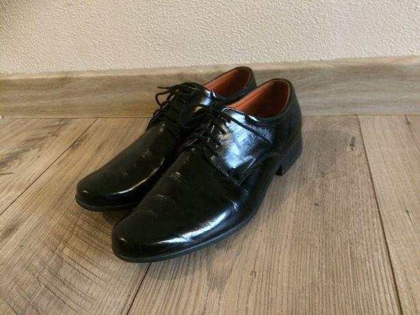 Buty wyjściowe / eleganckie / czarne, rozm.37