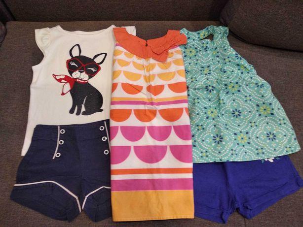 Пакет летней брендовой одежды 5 вещей GYMBOREE 4-5 лет