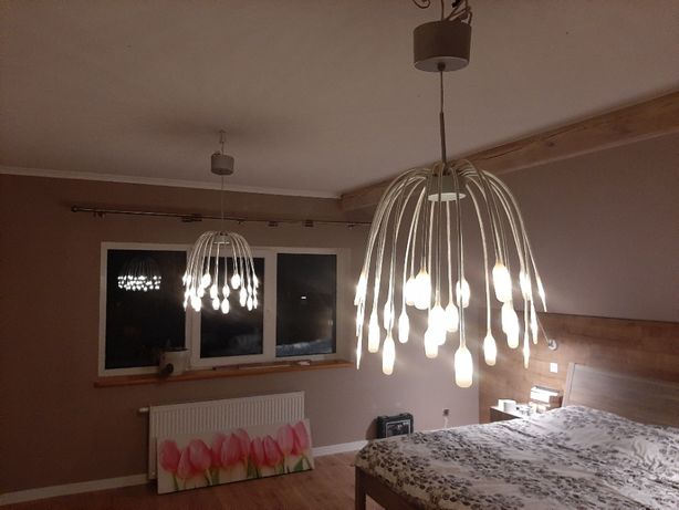 Lampa sufitowa Haggas led IKEA 2 szt