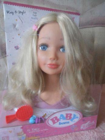 Кукла-манекен голова для причесок Zapf Creation Baby born Сестричка