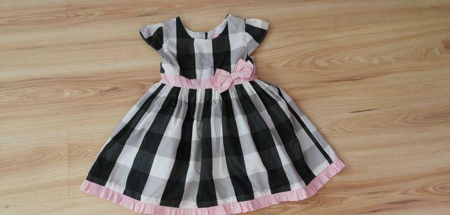 Piękna sukienka 5.10.15 na tiulowej halce 98 cm